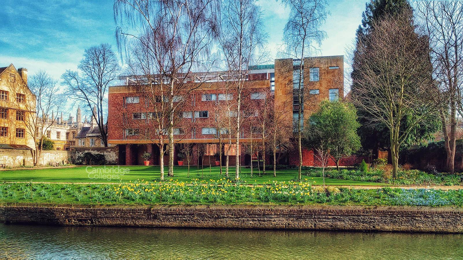 The Erasmus building of Queens' college, Cambridge