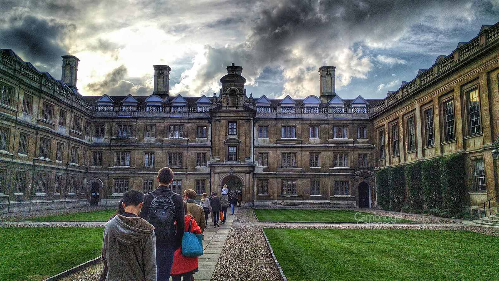 Clare collge Cambridge, Old court