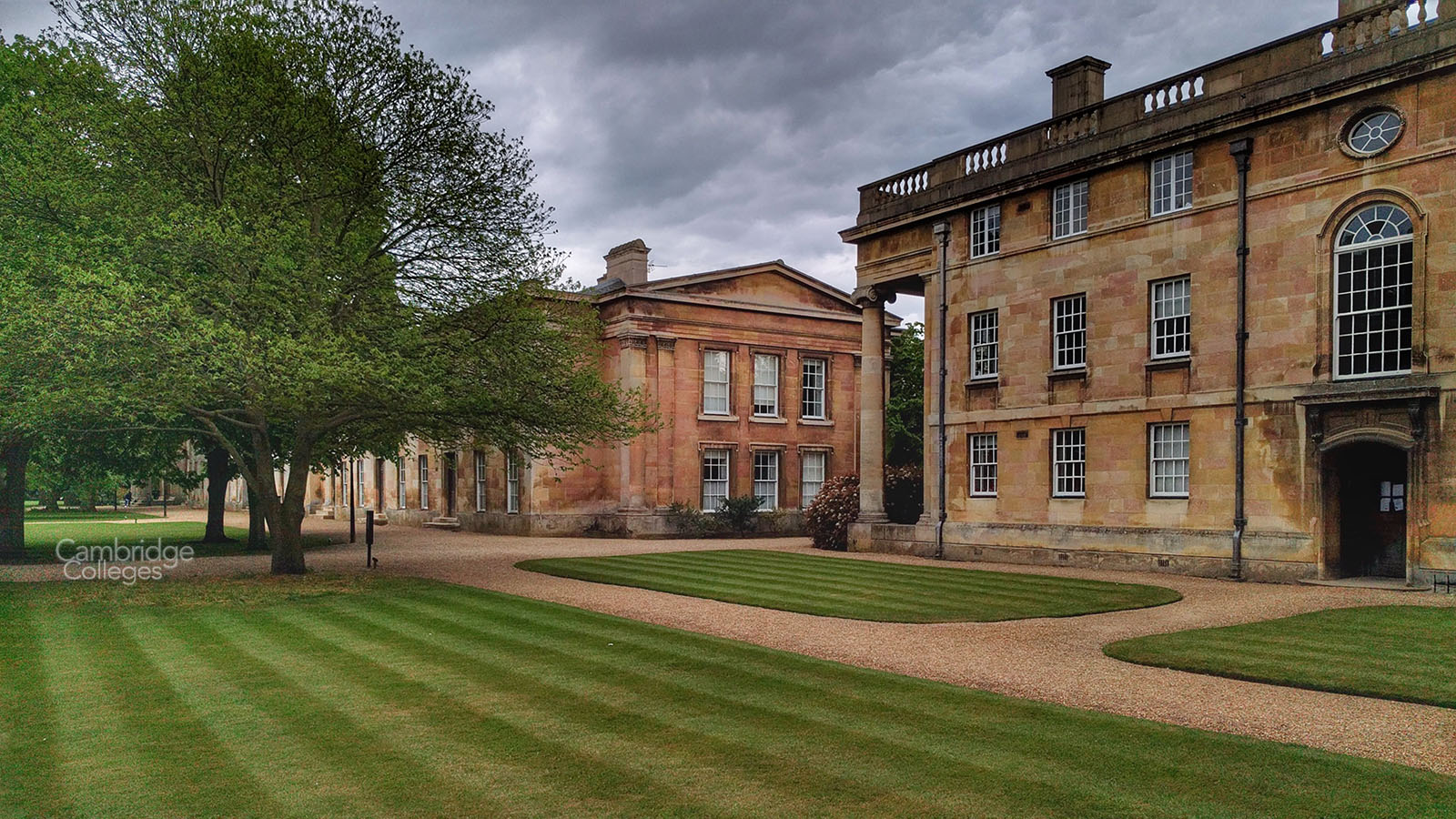 Downing college grounds