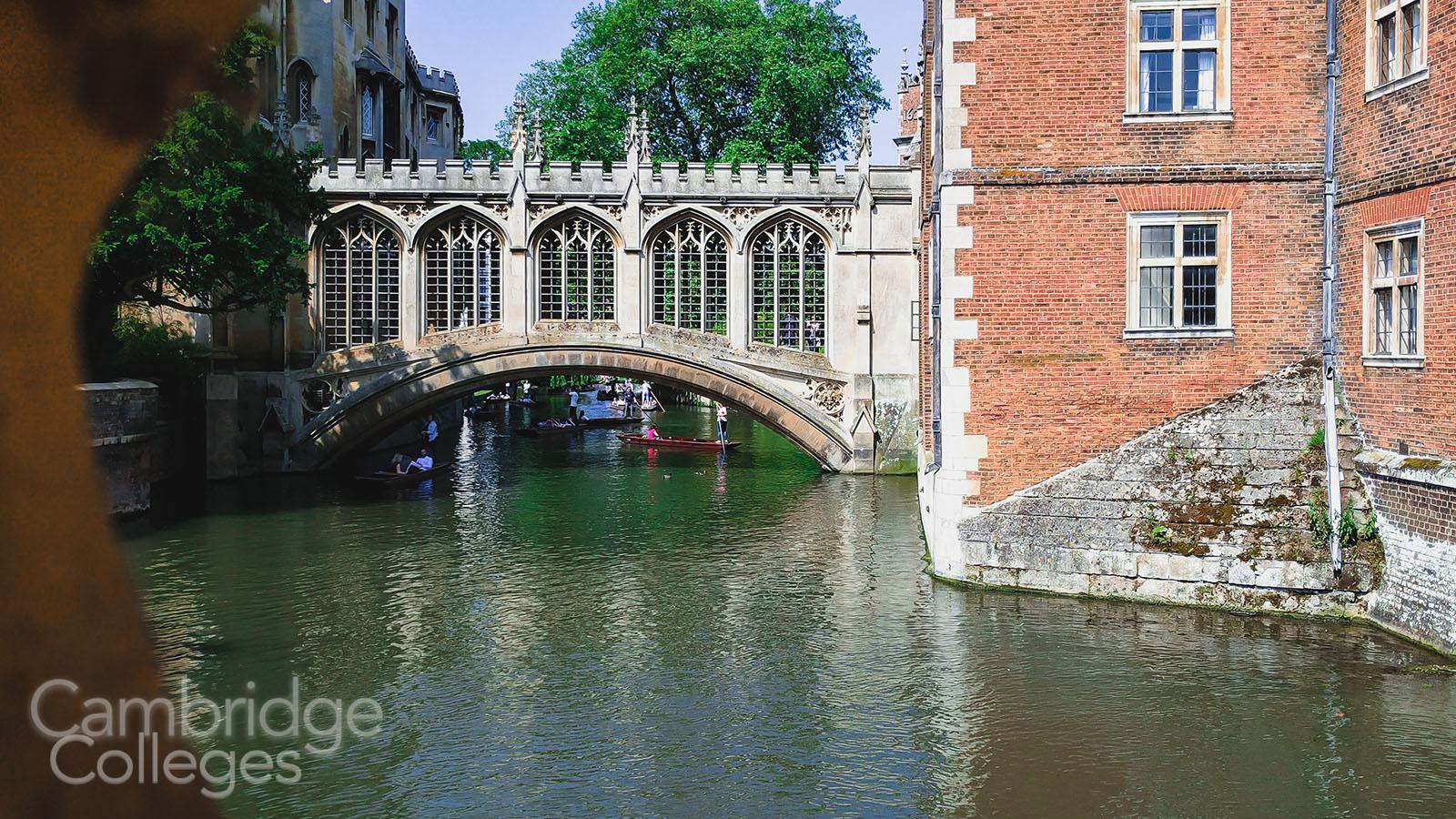 Bridge of sighs, St John's college, Cambridge