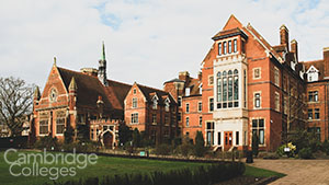 A small picture of Homerton College