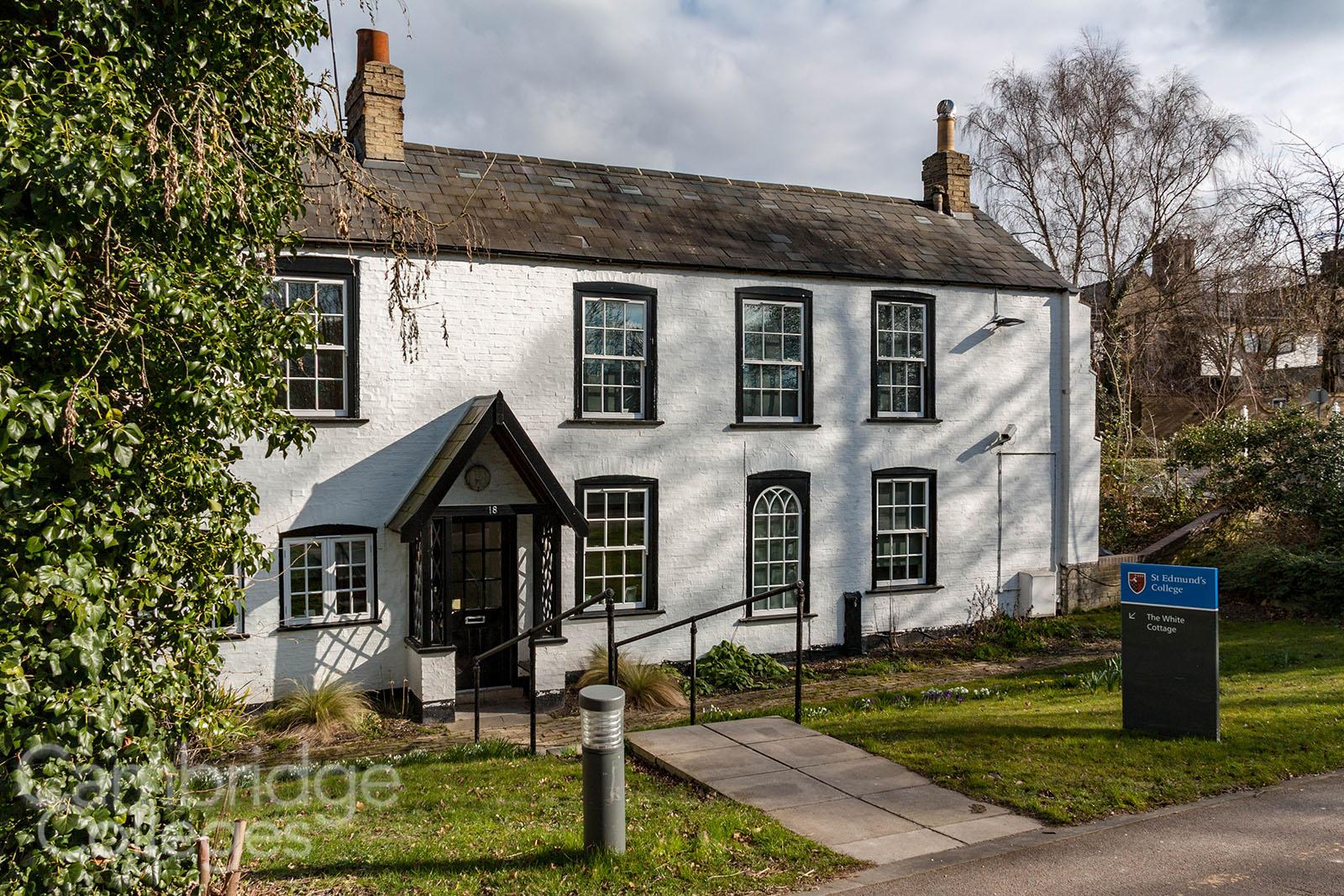 St Edmund's college White cottage